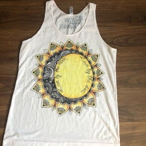 Love by The Moon, Live by the Sun tank top